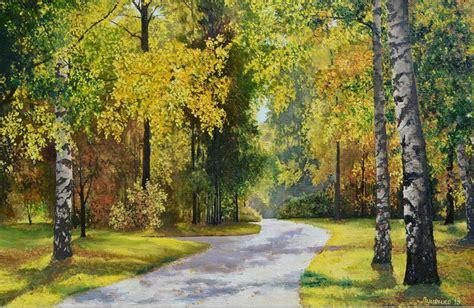 imagenes artisticas de paisajes cuadros modernos pinturas y dibujos bosques con