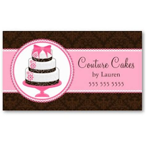 cake business cards templates business card showcase by socialite designs gourmet cake