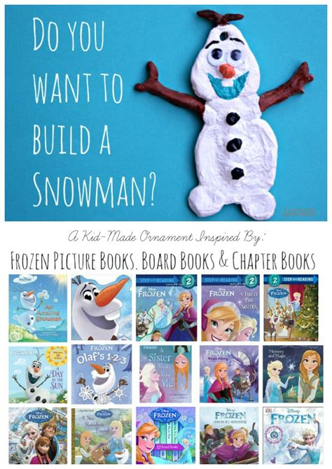 olaf waits for disney frozen golden book books olaf salt dough ornament the educators spin on it