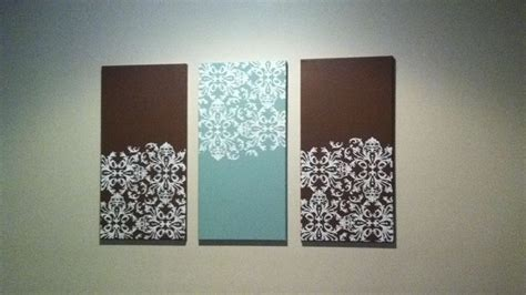 hanging canvas panels mixedmedia diy craft julie prichard diy canvas art with stencil crifty crafty pinterest