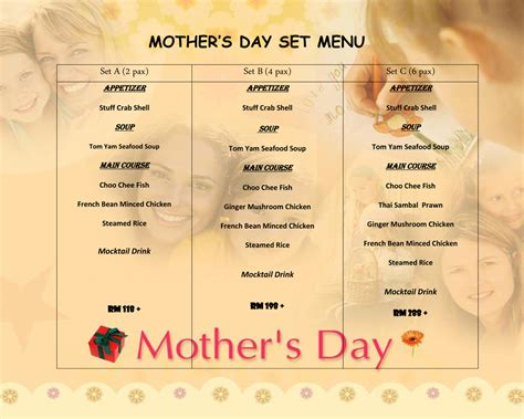 Zizzi Set Menu Mothers Day Promotion S Day Set Menu