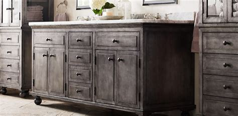 Restoration Hardware Bathroom Furniture Bathroom Collections Rh