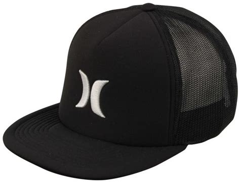 Blocked 3 0 Hat Hurley hurley blocked 3 0 trucker hat black for sale at