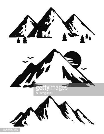 mountainscape vector - Google Search | Tatts | Pinterest