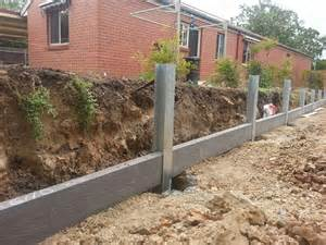 concrete sleepers installation guide install permanent