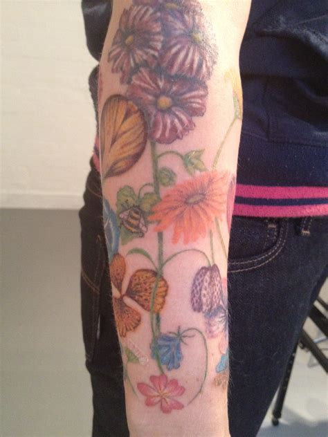 hollyhock tattoo www imgkid com the image kid has it