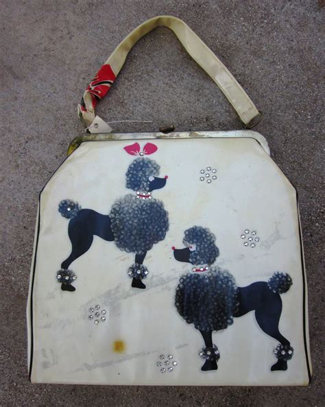 Inini Motif Vintage Lunch Bag Pink 17 best images about 1950s poodle bags on