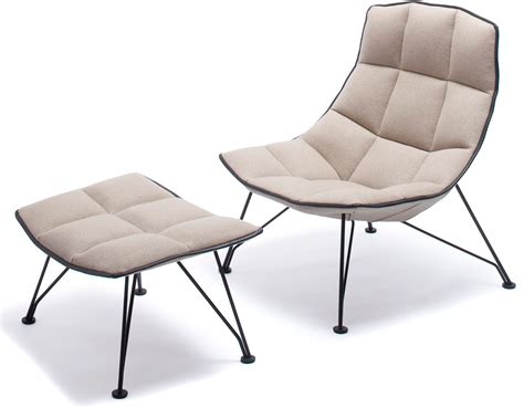 jehslaub wire lounge chair ottoman hivemoderncom