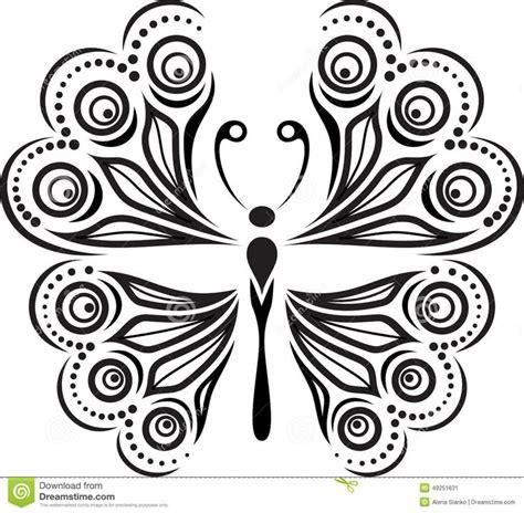 imagenes de mariposas siluetas las 25 mejores ideas sobre patrones de l 237 neas en