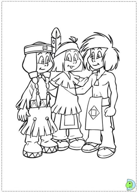 Yakari Coloring Pages Az Coloring Pages