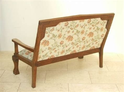 William Morris Sofa by Stunning Oak Arts Crafts William Morris Sofa C1890 75349
