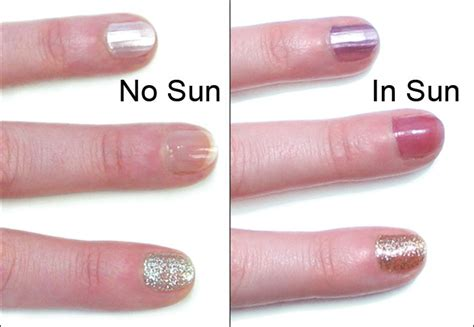 uv color changing light color uv color changing nail