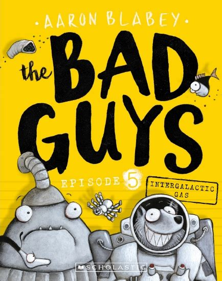 the store bad guys episode 5 intergalactic gas book