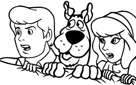 Scooby Dooby Doo Printable Coloring Pages Coloring Pages Part 3 Scooby Doo Colouring Pictures To Print