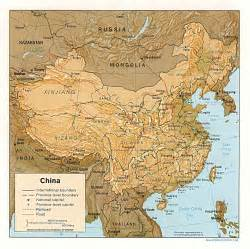 Ancient China Map by Map Of China Geography