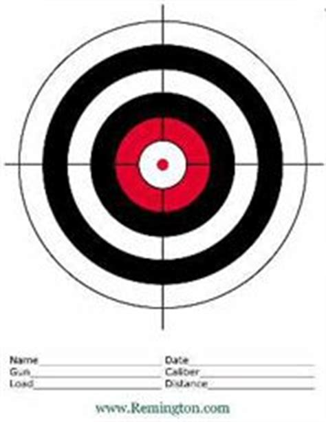 printable targets for iron sights 1000 s of free printable shooting targets such as this