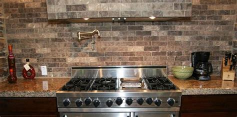 faux brick backsplash in kitchen kitchen backsplash brick look faux flooring wood for with