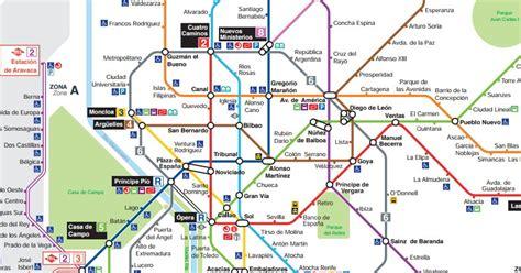 plano metro de madrid mapa del tren madrid barrakuda info