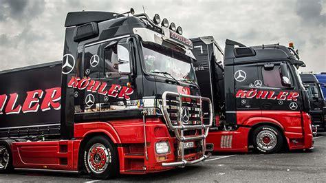 Lackieren Lkw Reifen by Fascination Of Show Trucks Countless Hours Of Work