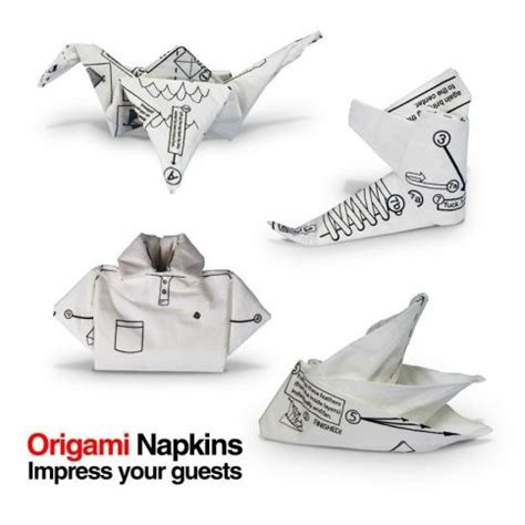 Origami Napkins - origami napkins pulju net