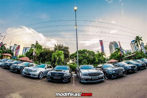 Pps Teflon Jakarta deklarasi mercedes w204 community indonesia di planet