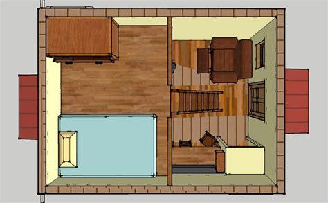 10 X 16 Floor Grid - 192 sq ft grid tiny cabin design