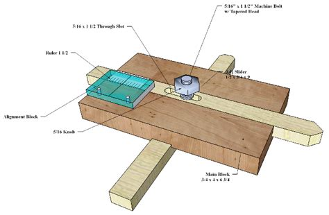 woodworking jig plans free thin ripping jig 027 3d woodworking plans