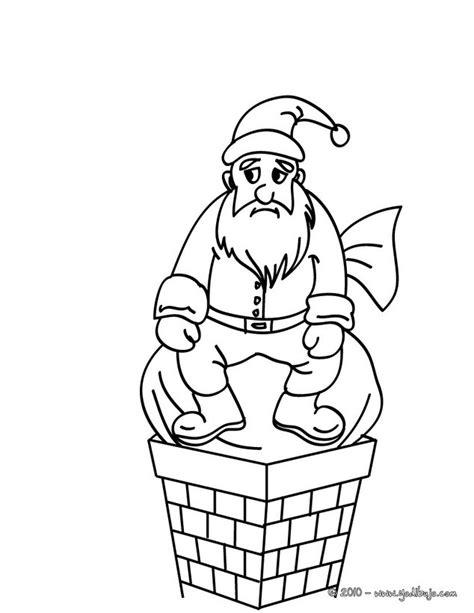 dibujos colorear papa noel az dibujos para colorear dibujos para colorear papa noel bloqueado en la chimenea