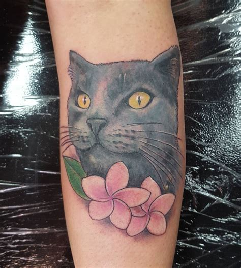 neo trad cat tattoo 20 cat tattoo designs ideas design trends premium