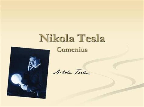 Nikola Tesla Powerpoint Nikola Tesla Authorstream