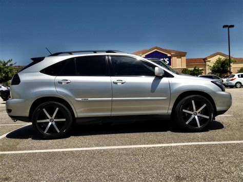 pimped lexus rx 350 what rim size looks best for rx clublexus lexus forum