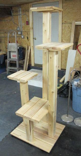 custom cedar  cypress cat tree cat tree house diy