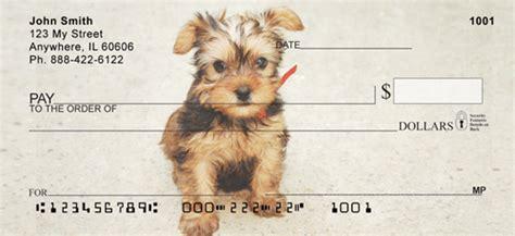 yorkie checks yorkie personal checks yorkie checks