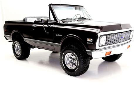 1972 chevrolet k5 blazer 1972 chevrolet k5 blazer black cherry 4x4 houndstooth