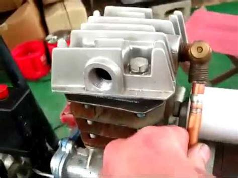 how to fix air compressor not building pressure easy fix