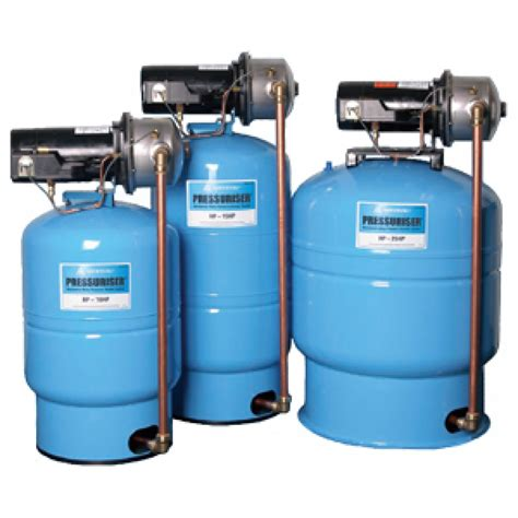 Pressure Nks amtrol 20 gallon tank water pressure booster systems with 15 gpm flow rate