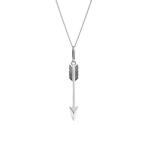 Sterling Silver Arrow Pendant arrow pendant in sterling silver