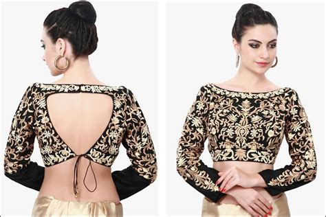 Blouse N boat neck blouse designs 15 blouses are the rage