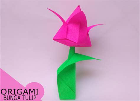 membuat origami bunga lotus tutorial origami bunga gallery craft decoration ideas