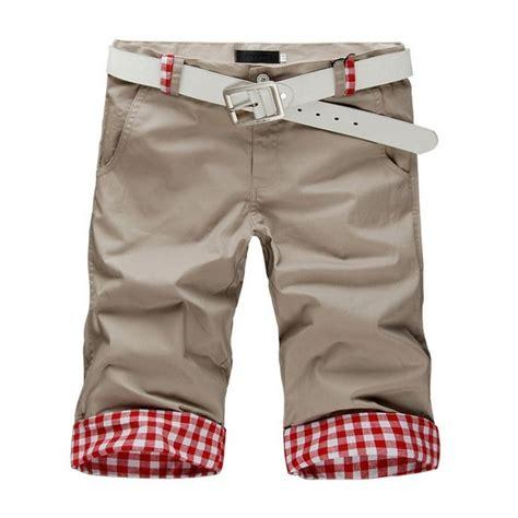 Celana Celan Pendek Casual Santai Corak Kotak Kotak celana pendek pria motif kotak cp035 pfp store