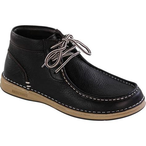 birkenstock boots mens birkenstock pasadena high boots black brown
