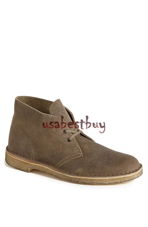 Handmade Chukka Boots - new handmade chukka style brown suede leather boots with