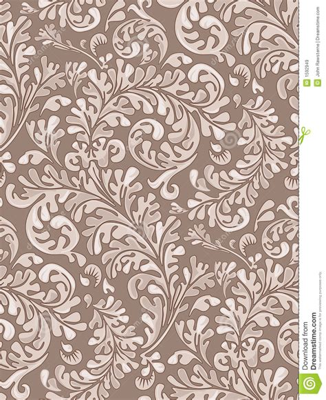 stock pattern backgrounds seamless vintage wallpaper pattern stock illustration