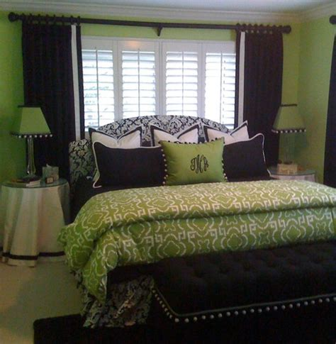 green bedding and curtains 17 best images about bedroom on pinterest master