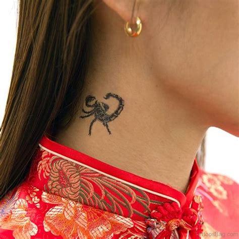 scorpion neck tattoo designs 25 stylish scorpion tattoos on neck