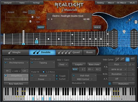 best guitar vst musiclab realeight 8 string guitar in for mac and
