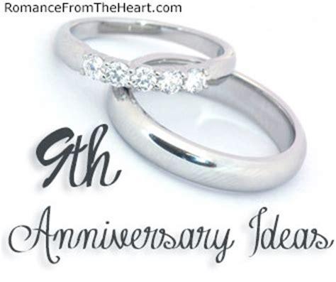 9th Anniversary Ideas   ? RomanceFromTheHeart.com