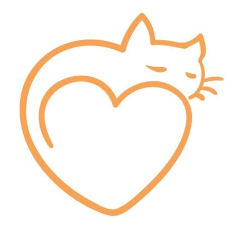 cat heart tattoo cat tattoos ideas