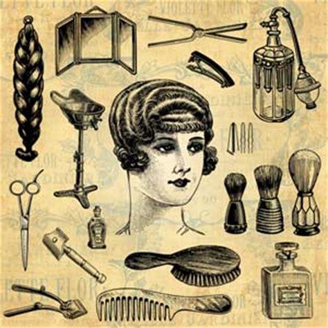 Hair Dresser Salon by Vintage Vectors Antique Vector For Graphic Designers