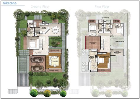 villa plans villa plan arbors lake bangalore residential property buy house plans 44635